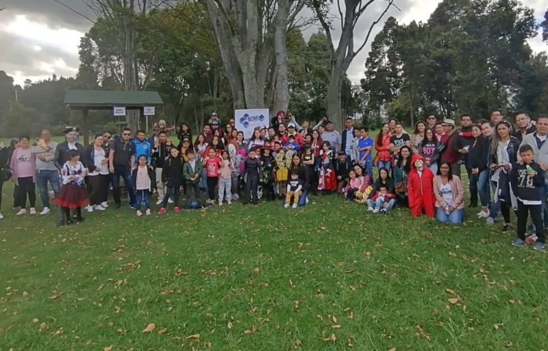 BOMI GROUP EMPLOYEES GATHERED TO CELEBRATE THE FAMILY AND CHILDREN'S DAY IN COLOMBIA